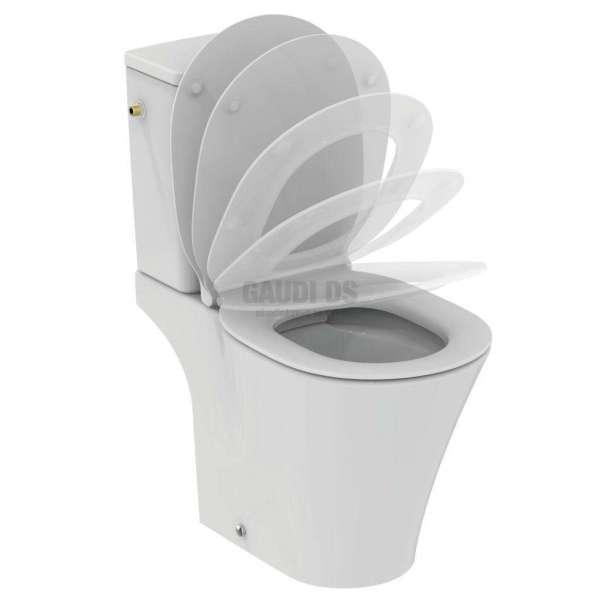Connect Air моноблок,стояща тоалетна чиния без ринг E0176+E0739+E0365