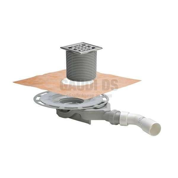 Плосък сифон за баня Viega Advantix 4980.61 - 62 мм 687 700