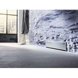 Бяла стъклена решетка за стенен сифон Geberit 30см