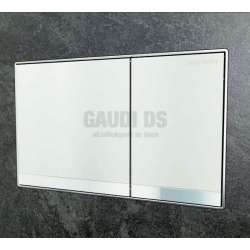 Активатор Geberit Sigma 60 за WC бяло стъкло