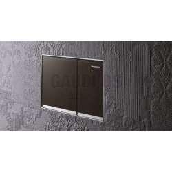 Активатор Geberit Sigma 60 за WC тъмно кафяво стъкло 115.640.SQ.1