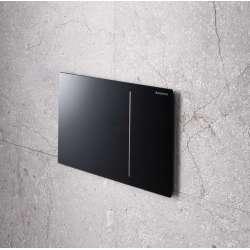 Активатор Geberit Sigma 70 за WC черно стъкло 115.620.SJ.1