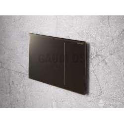 Активатор Geberit Sigma 70 за WC тъмно кафяво стъкло 115.620.SQ.1