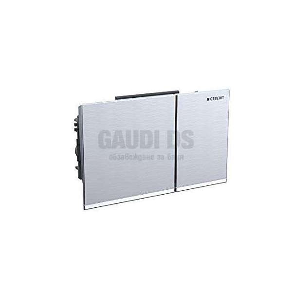 Geberit Omega 60 активатор за WC драскан хром 115.081.GH.1