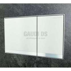 Geberit Omega 60 активатор за WC бяло стъкло 115.081.SI.1