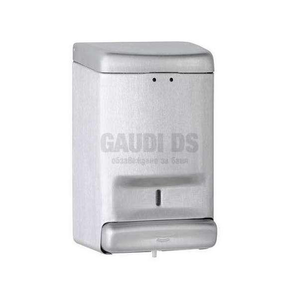 Диспенсър за сапун с широк бутон, цвят сатен DJ0030CS