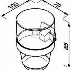 Чашодържател висока чаша Standard 1