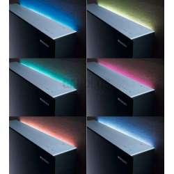 Geberit Монолит Плюс санитарен модул за стояща на пода WC бяло стъкло 114 см 2