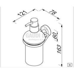 Резервоар за течен сапун LUNA 1