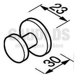 Единична закачалка CIRCLES 1