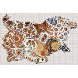 Декор Aspen Set Map Bulgaria 40x60
