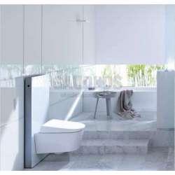 Geberit Монолит санитарен модул за окачена WC бяло стъкло 114 см 131.031.SI.5