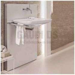 Geberit Монолит санитарен модул за окачена мивка бяло стъкло 131.042.SI.1