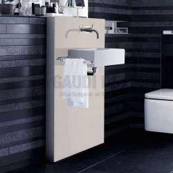 Geberit Монолит санитарен модул за окачена мивка пясъчен