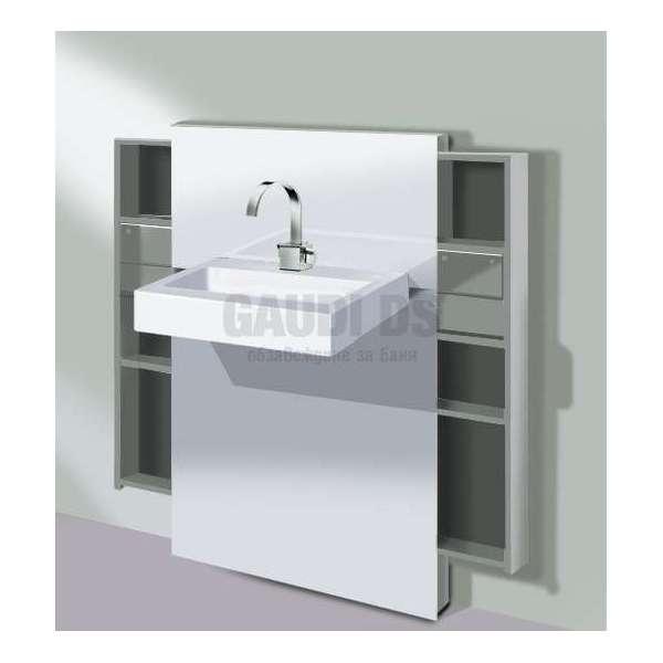 Geberit Монолит санитарен модул за окачена мивка и стоящ смесител 131.050.SI.1