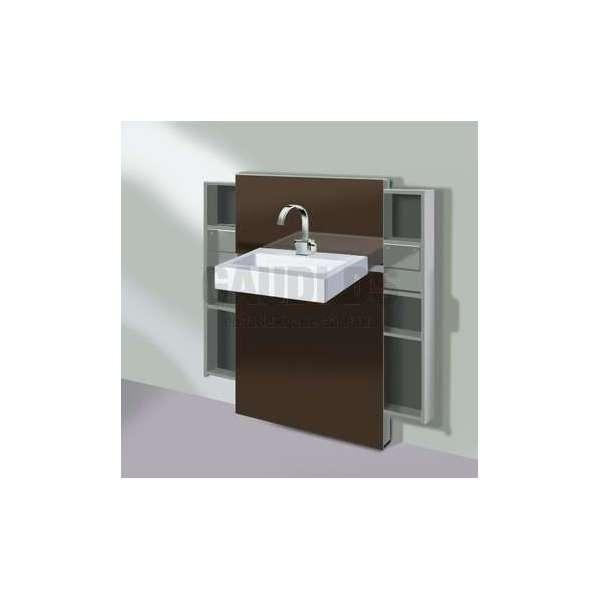 Geberit Монолит санитарен модул за окачена мивка и стоящ смесител 131.050.SQ.1