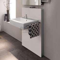 Geberit Монолит санитарен модул за окачена мивка и стоящ смесител 131.050.TG.1