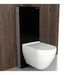 Bocchi Glass Box структура за вграждане с бял стъклен панел за WC 2
