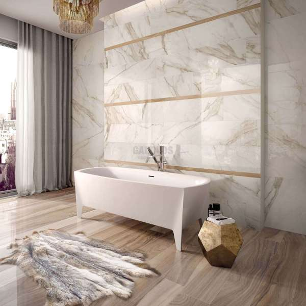 Golden Calacatta полиран 60x120 см, второ качество flaviker_gr_golden_calacatta_2