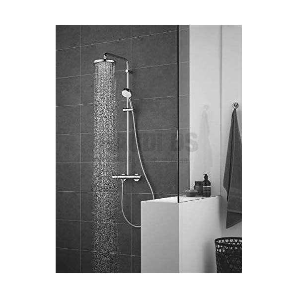 Grohe Tempesta Cosmopolitan System 210 душ система с термостат, стенен монтаж 27922001
