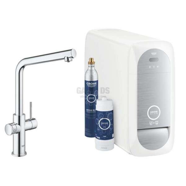 Grohe BlueHome смесител за филтрирана/газирана вода, L-чучур 31454001