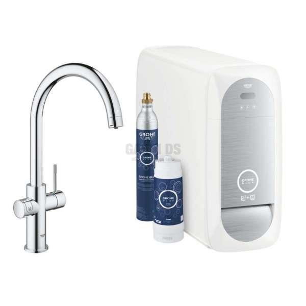 Grohe BlueHome смесител за филтрирана/газирана вода, С-чучур 31455000
