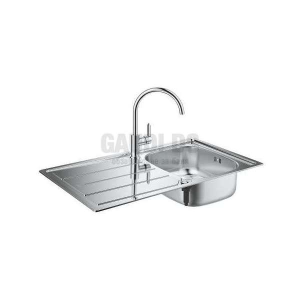 Grohe К200 комплект мивка от неръждаема стомана и смесител 31562SD0