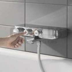 GROHE-Grohtherm SmartControl, термостатен смесител душ/вана