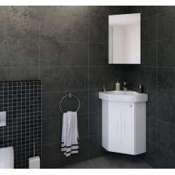 Комплект Kara 46 PVC, огледален горен шкаф, ъглови komplekt-кара46-pvc