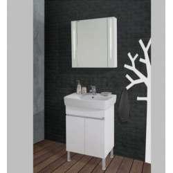 Комплект Lorena 60 PVC, долен стоящ шкаф, LED осветление komplekt-lorena60-pvc_st