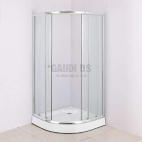 Матирана кабина Macedonia 90х90 6 мм стъкло без корито dush_kab_485mat-bez