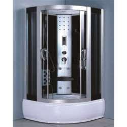 Elza - хидромасажна душ кабина с парогенератор 130zx130