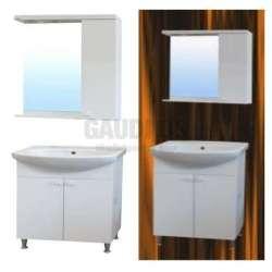 Комплект Neo 55см PVC, огледало и LED осветление, мивка NEO5501UN+NEO5501N