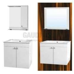 Комплект Athena 55см PVC LED осветление, мивка, конзолни AT5501UNM+KT5501NM