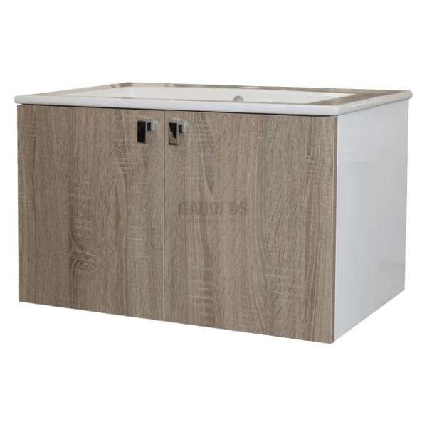 Долен Vitosha изцяло от PVC с дървесно HPL покритие 65x43 VI65H1146N
