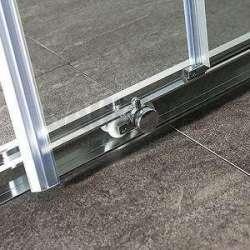 Квадратна Easy 90х90х190 с прозрачно стъкло 2