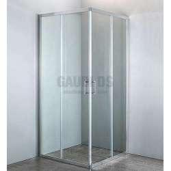 Квадратна Easy 90х90х190 с прозрачно стъкло GDS_KV_Easy9090190