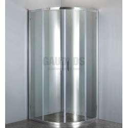 Овална Easy 90х90х190 с прозрачно стъкло GDS_C_Easy9090190prozr