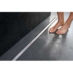 Geberit душ канал CleanLine 20 - черен метал 30-130 см 154.451.00.1