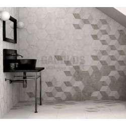 Плочки за баня Pietra Hexagons 20x23 pietra_hexagons_20x23