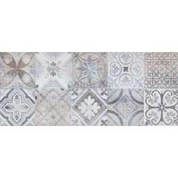 Moris Grey Patchwork 25x60