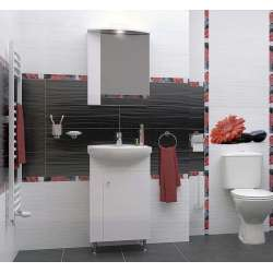 Комплект за баня Triano Stela - долен и горен шкаф с мивка 50см komplekt_stela