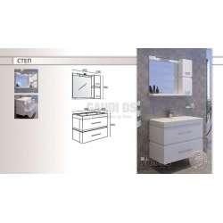 Комплект Triano Step с мивка и плавно затваряне 2
