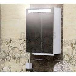 Горен огледален шкаф Triano Trento с Led осветление 50см goren_triano_trento