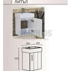 Долен шкаф Triano Little с мивка 38x28,5 см 1