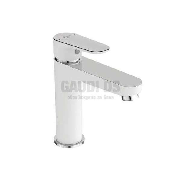 Ideal Standard - Tyria смесител за мивка, хром и бял мат BC159HO