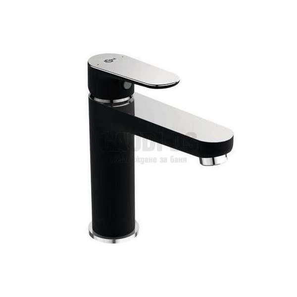 Ideal Standard - Tyria смесител за мивка, хром и черен мат BC159HS