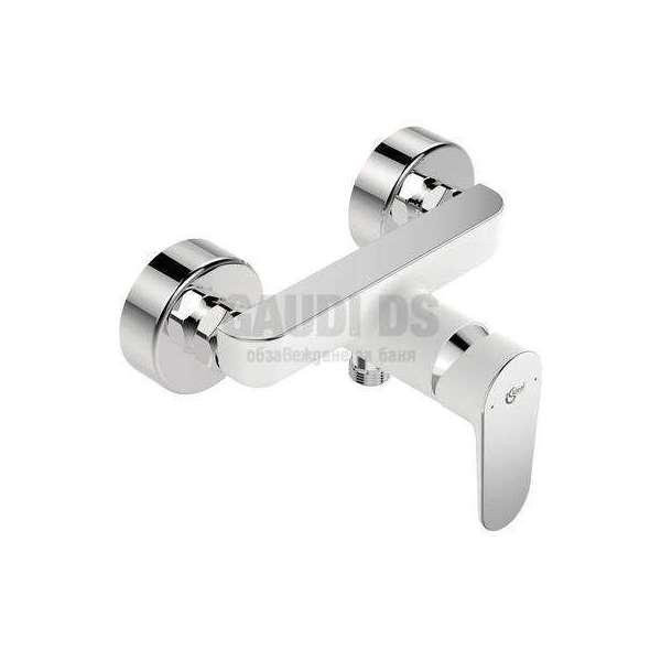 Ideal Standard - Tyria смесител за душ, хром и бял мат BC156HO
