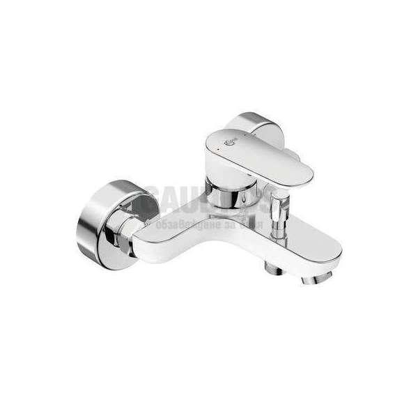 Ideal Standard - Tyria смесител за вана/душ, хром и бял мат BC157HO