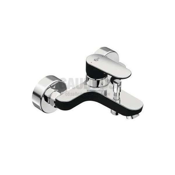Ideal Standard - Tyria смесител за вана/душ, хром и черен мат BC157HS